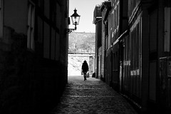 home (O.Krüger) Tags: niedersachsen deutschland goslar streetphotography sw schwarzweis socialdocumentary streetlife silhouette bw bianconero blackwhite monochrom urban peopleinthecity people personen passage ngc