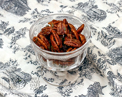 Maple-Glazed Rosemary Pecans - D&D_2677 (Deft & Daft) Tags: nibble appetizer maplesyrup seasalt rosemary pecans baking march 2018