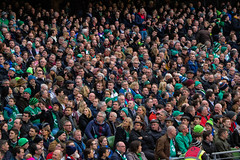 Faces (A Costigan (Off for a while)) Tags: rugby avivastadium 6n 6nations sixnations ireland irish faces heads fans supporters