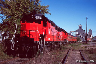 Palouse River Railroad trip in 1994 (1 of 4)