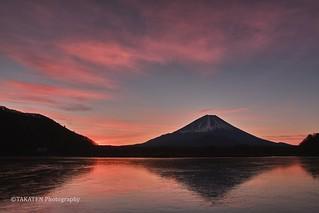 Mt. Fuji from Shojiko-Lake