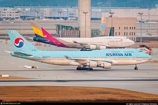 [ICN.2017] #Korean.Air #KE #KAL #B744 #HL7402