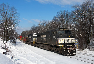 Snow Covered Lehigh Line
