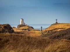 Ynys Llanddwyn (urfnick) Tags: sundaylights lighthouse cross celtic sea iasland wales angelsey canon eos 1300d tamron 18270mm rocks cliffs dunes sand