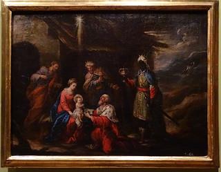 Epifania Museo del Castillo de javier Pinturas sobre la vida de Jesucristo Navarra