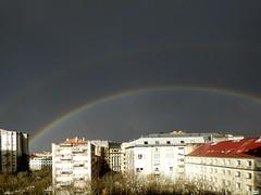 Tormenta de primavera (juantiagues) Tags: tormenta arcoiris nubes juantiagues juanmejuto