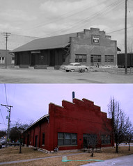 CB&Q Freight House, Atchison, KS (Jeff Carlson_82) Tags: atchison ks kansas nowthen nowandthen history cbq burlington burlingtonroute freighthouse freightdepot train railroad railfan railway