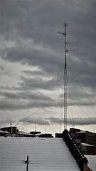Asi aparecio el otro dia (enrique1959 -) Tags: martesdenubes martes nubes nwn antena bilbao vizcaya españa paisvasco euskadi europa