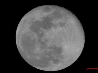 Full Moon March 2018