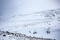 Snow in Reykjanesfólkvangur