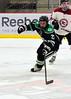 Checking in the neutral zone (R.A. Killmer) Tags: sru slippery rock university black green skate stick check competition acha puck
