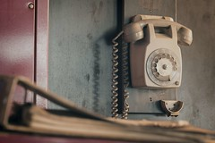 'On the other line'... (Taken By Me Photography) Tags: takenbyme takenbymephotography abandoned adventure building buildings book books telephone phone line closed centre derelict decay demolished d750 explore exploring empty forgotten factory gone industrial left nikon neglect ruin shut table urbex urban ue wwwtakenbymephotographycouk