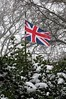 Cool Britannia (Le monde d'aujourd'hui) Tags: britannia coolbritannia unionjack flag snow hilly winter 2018 march beastfromtheeast cold wind globalwarming climatechange alarmists globalcooling ice iceage climate weather fakenews