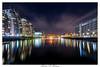 Bright lights of Salford Quays, Media City, Manchester UK (michaelmckenna11) Tags: salfordquays mediacity manchester uk lights nightscape cityscape fav10 fav20 fav30 fav40 fav50 fav60 fav70 fav80 fav90 fav100 landscape buildings longexposure