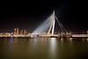 Rotterdam - Erasmusbrug (Eero Capita) Tags: rotterdam erasmusbrug bridge duitsland nederland long exposure nikon d7100 1020 dx sigma wide angle panorama night nuit nacht