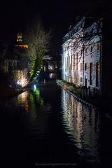 Canal lights (Daniel James Greenwood) Tags: bruges brugge danielgreenwood danielgreenwoodphotography canong7xmii canonpowershotg7xmii canonpowershot belgium