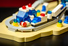 6990-1 Monorail Transport System in Microscale (Baron Julius von Brunk) Tags: lego legospace futuron monorail legomonorail monoraitransportsystem 6990 classicspace brunk microscale brickset brickset60years