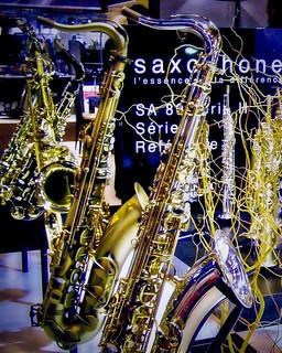 Salon de la musique - Saxophones B