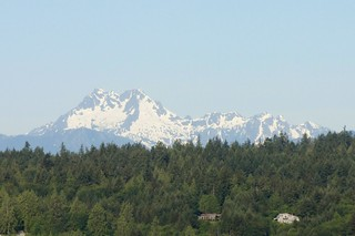 Olympic Mountains from Poulsbo, WA