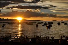 Copacabana - Sunset (tcchang0825) Tags: bolivia titicaca lake sunset copacabana
