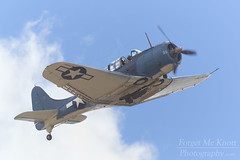 SBD Dauntless (Brian Knott Photography) Tags: dauntless sbddauntless sbd wwii worldwar2 worldwarii worldwartwo plane aircraft airplane wwiiplane wwiiairplane wwiiaircraft fighter wwiifighter flying flight clouds cloudy sky airshow chinoairshow california planesoffame planesoffameairshow flyby fighterpilot pilot fighterplane bomber wwiibomber divebomber