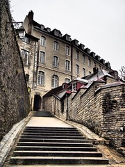 On my way to the Citadel of Besançon (M_Strasser) Tags: citadel besançon olympusomdem1 olympus france frankreich