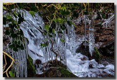 Galerie des glaces (jamesreed68) Tags: glace stalactite paysage nature eau water froid hiver gel 68 hautrhin france ruisseau grandest canon eos 600d steinbach chute