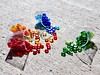 4 Color Spills (Robert Cowlishaw (Mertonian)) Tags: shadows creative plastic glass texture backyardphotolab bypl concretecanvas concrete cement markiii g1x powershot canon canonpowershotg1xmarkiii robertcowlishaw mertonian colours colors 4colorspills