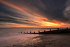 Explosive Sky (Sunset Snapper) Tags: explosivesky sunset sandypoint haylingisland hampshire southcoast uk beach clouds dramatic sand shingle stones groyne sea seascape windy longexposure filters lee littlestopper nd grad nikon d810 2470mm march 2018 sunsetsnapper