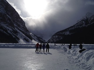 Friends ... Lake Louise Canada Parks