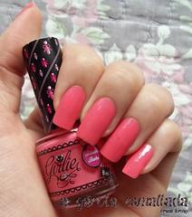 Esmalte Blush Babe, da Capricho. (A Garota Esmaltada) Tags: agarotaesmaltada unhas nails esmaltes nailpolish manicure blushbabe capricho girlie rosa pink