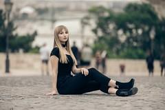 Portrait (Vagelis Pikoulas) Tags: portrait woman girl model budapest hungary hungarian street bokeh blur tamron 70200mm vc canon 6d beautiful people