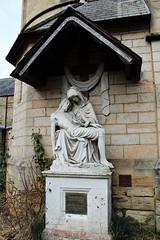 Pieta. St Hedda's Chuch, Egton (Martellotower) Tags: pieta saint heddas church roman catholic egton bridge north yorks