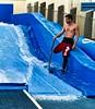 Surf instructor, Hollywood, Florida (JasChamPhoto) Tags: florida hollywood margaritaville surfinstructor man shirtless sixpack tattoos