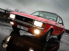 Granada Mk1 (deltic17) Tags: ford granada fordgranada mk1 mk1granada classic red dagenham history historic ghia rain weather 30 sweeney