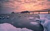 Cold winter morning (Stefan Sellmer) Tags: morning sunrise heringsdorf balticcoast ice clouds mood mecklenburgvorpommern light balticsea cold frozen