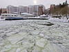 Nacka Strand in Stockholm (Franz Airiman) Tags: vinter winter snö snow is ice cold kallt minusgrader stockholm sweden scandinavia quay kaj
