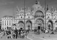 VENEZIA Street. Piazza San Marco (Pedro Ruiz L) Tags: venecia venice venezia mar italy italia piazza san marco góndolas adriático sea europe europa viajes travels street