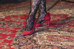 Best shot of the day (shottwokill) Tags: shoes carpet stockings feet heels spikeheelsnikon d800 nikkor 80200 redshoes