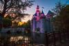 Castle Sunset 3_11_2018 *EXPLORE* (Domtabon) Tags: castle disneyland dl dlr disney disneylandresort sleepingbeautycastle mousewait
