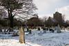 Ramsgate Cemetery - Tombstones & Twin Chapels (Le Monde1) Tags: ramsgate kent england ramsgatecemetery county graves tombs tombstones headstones lemonde1 nikon d800e dumptonpark snow georgegilbertscott nonconformist anglican twin chapels