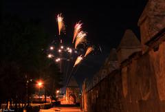 fireworks (guilletho) Tags: mexico puebla huejotzingo fireworks pirotecnia fuegospirotecnicos landscape sky nightphotograpy night canon atrio lights