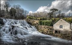 Blenheim Cascade (Darwinsgift) Tags: waterfall blenheim palace garden cascade pump house nikkor 19mm f4 pc e nikon d850 hdr photomatix