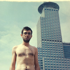 Will Hutton (Walther Le Kon) Tags: analog film shanghai china roof fackel torch pudong croppedbylaurelei