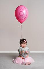 Emma's 2/3 (sebastian.werner) Tags: birthday baby infant anniversary 8months balloon pink tutu ribbon sweater headband party celebration portrait babyportrait studio strobist strobes sonya7riii sonymirrorless ilce7rm3 a7riii sonnar5518za zeiss sonyzeiss sony 55mm f18 sonyzeiss55mmf18 paulcbuff alienbees digibee digibee800 flashpoint flashpointzoom