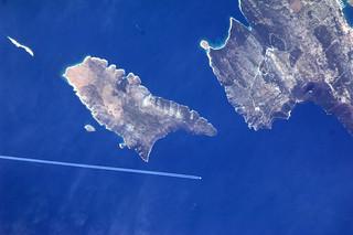 Jetliner over Croatia