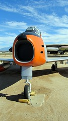 "North American F-86H Sabre 2 • <a style=""font-size:0.8em;"" href=""http://www.flickr.com/photos/81723459@N04/26891212428/"" target=""_blank"">View on Flickr</a>"