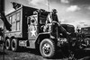 Headcorn Combined Ops (aquanout) Tags: lorry wwii worldwar blackandwhite monochrome military clouds reenactment wheels vehicle