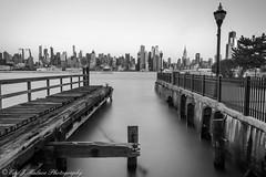 Pier towards Midtown (ericjmalave) Tags: longexposure manhattan midtown newjersey nj weehawken fuji xt10