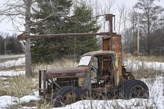 Retired Logger (Estes Bob) Tags: htt rust truck